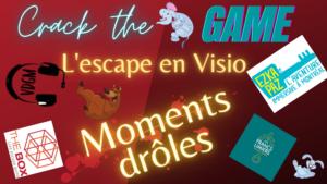 #2 Les bonus de la visio sur Crack the Game