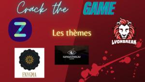 #7 Les thèmes en escape games sur Crack the Game